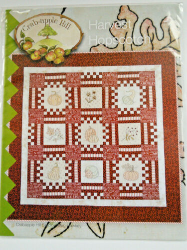 """""""Harvest Hopscotch"""" quilt pattern from Crab-apple Hill"""