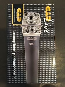 CAD D89 Instrument Mic ( Selling 2 new in box )
