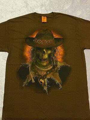 Skeleton Scarecrow Halloween T-Shirt