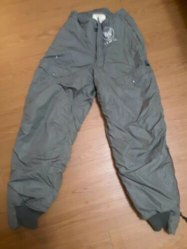 Vtg US AIR FORCE Type F-1B HEAVY ZONE Aircrew Trousers Sz 28 Pants