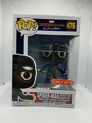 Funko POP! Marvel: Spider-Man (Stealth Suit Goggles Up) #476 Target Exclusive