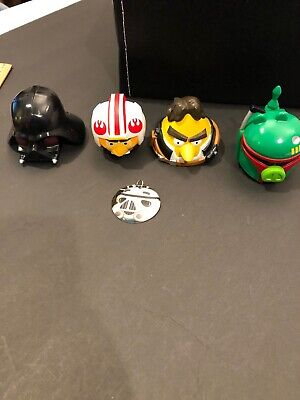 angry birds star wars vehicles lot, plus charm
