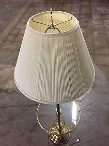 Lamp with table and stand