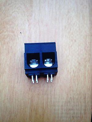 Fixed Terminal Blocks 15MM 2 ASY VERT 115AMP Molex P/N 39920-0302 ()