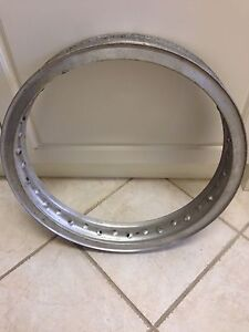 Vintage Akront Flanged 36-Hole Motorcycle Rim