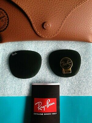 Genuine RAY BAN Clubmaster Green G-15 Replacement Glass Lenses 51mm (Clubmaster Lenses)
