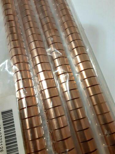 96 inches - Laird-3M Beryllium Copper RFI / EMI Shielding Gasket contact Strip