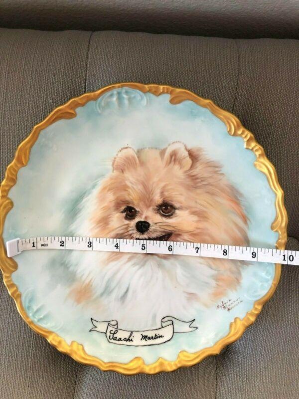 Porcelain Plate - Pomeranian