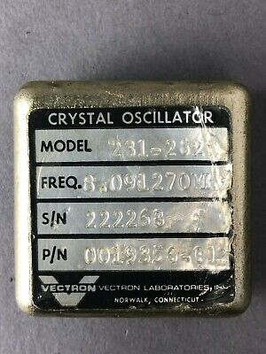 Vectron 8.091270mhz Crystal Oscillator Model231-2621 Pn0019356-01