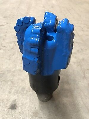 5 14 New Pdc Drill Bit. 4 Blade 13mm Cutters Hdd Geothermal Water Well