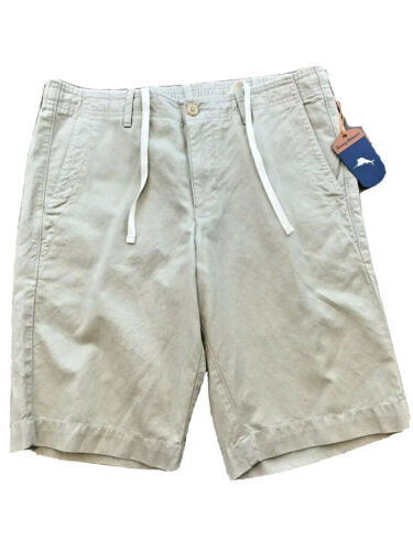 $99 Tommy Bahama Men's Aegean Lounger Chino Shorts Small Beach Stretch Waist Clothing, Shoes & Accessories