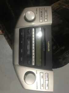 Lexus Radio CD unit