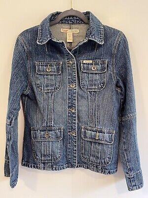 Abercrombie & Fitch Denim Jacket Womens Size L