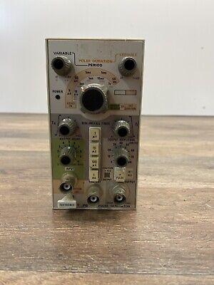 Tektronix Pg505 Precision 100khz High Voltage Pulse Generator Plugin For Tm 500