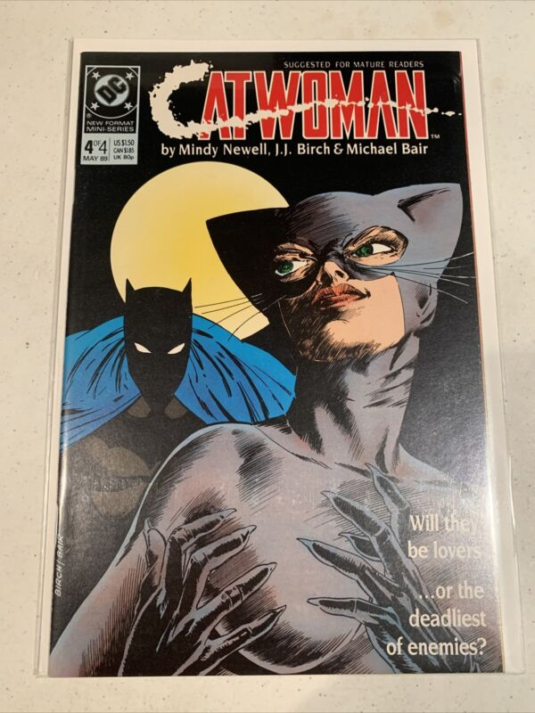 Catwoman 4 of 4 VF-NM condition