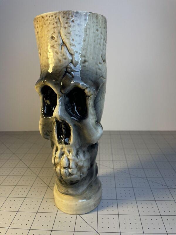 Skull Tiki Style Cup Mug