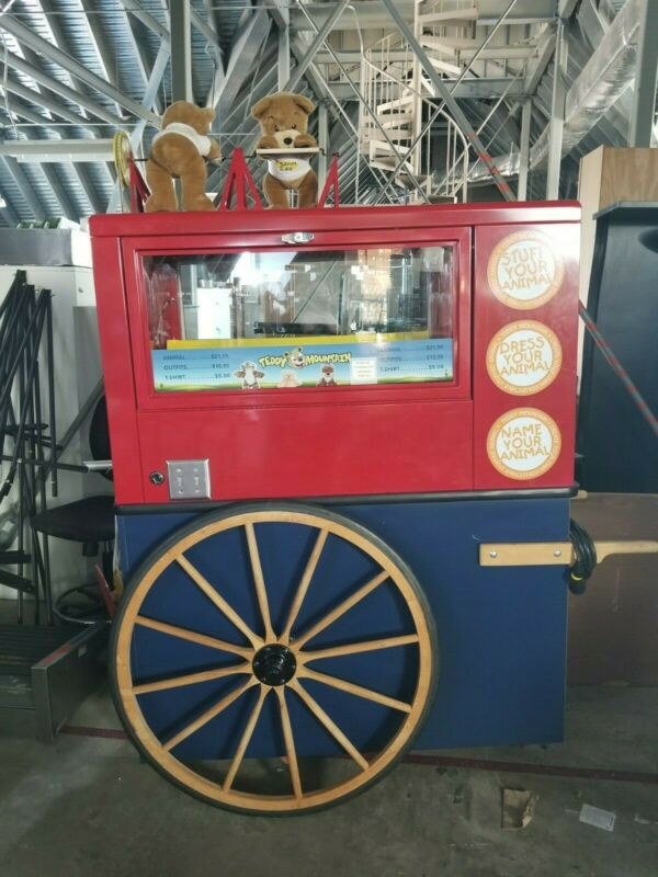 Bear Stuffing Machine, Plush Machine, Teddy Bear Mountain, Build-A-Bear