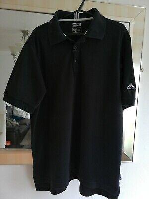 Adidas Climalite Polo Shirt Black Medium
