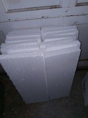 16 Lot Foam Packing Sheets 1.25-1.5 X 7 X 21