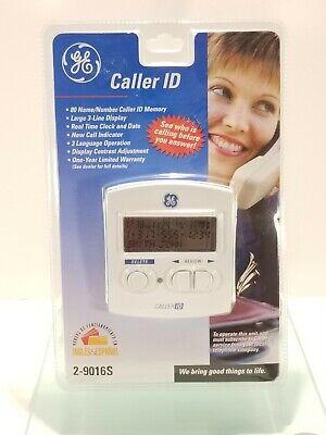 GE Caller ID ( 2-9016S ) Name Land Line Identification Phone Display - Sealed