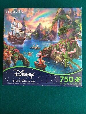 Disney Peter Pan's Never Land, Thomas Kincaid jigsaw puzzle. New. Unopened SALE!