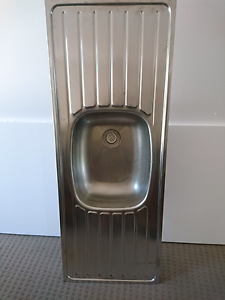 Kitchen Sink Clark Brand Stainless Steel No Holes Buderim Maroochydore Area Preview