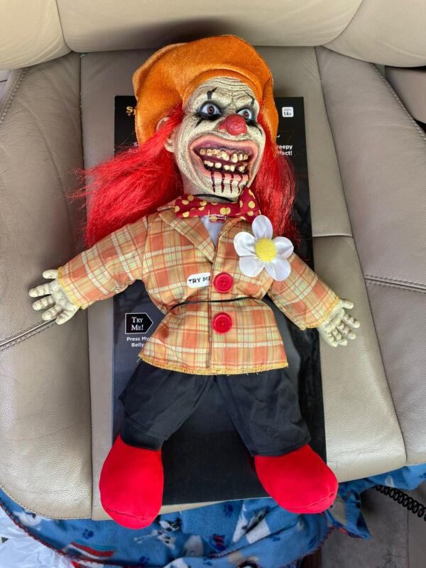 spirit halloween uncle charlie doll RARE HTF