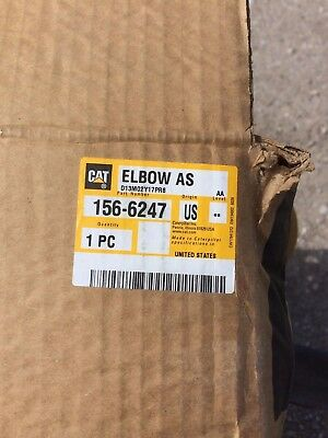 Caterpillar 1566247 Elbow Assembly 156-6247