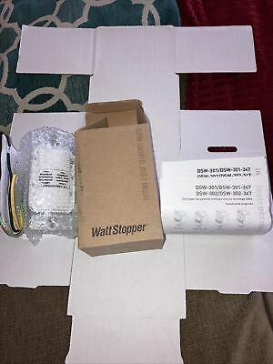 Wattstopper Dsw-301-w Dual Tech Wall Switch Sensor 120277vac 5060 Hz New