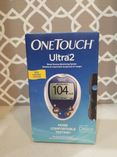One Touch Ultra 2~Blood Glucose Meter~Monitoring System~New