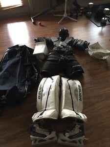 Kids goalie equipment
