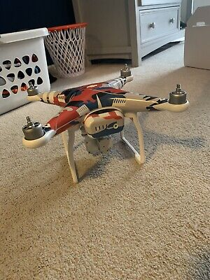 DJI Phantom 3 Standard Quadcopter Drone Rarely Used!