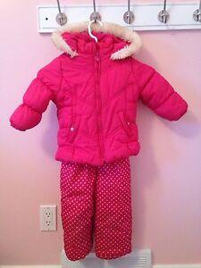 Snow suit size 2