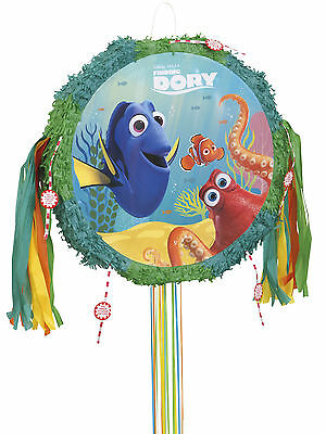 Finding Dory Nemo Sea Fish Birthday Party Pop Out Pull String Pinata Party Game (Nemo Pinata)
