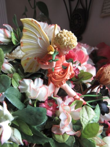 Cicely Mary Barker BIRD'S FOOT TREFOIL Flower Fairy Ornament Figurine RETIRED!