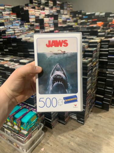 JAWS MOVIE POSTER 500 PIECE JIGSAW PUZZLE