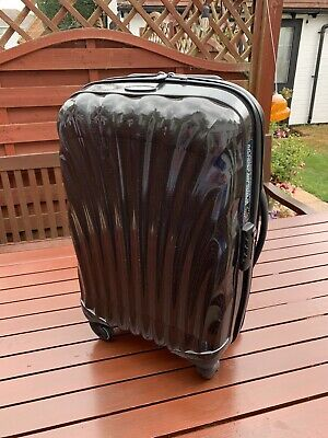 SAMSONITE 4 WHEEL SPINNER HARD SHELL SUITCASE. HAND LUGGAGE