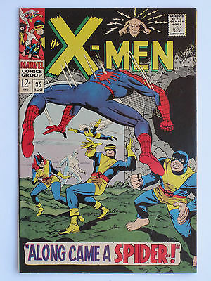 X MEN #  35  US MARVEL 1967 Spiderman app - 1st app Changeling  FN-VFN
