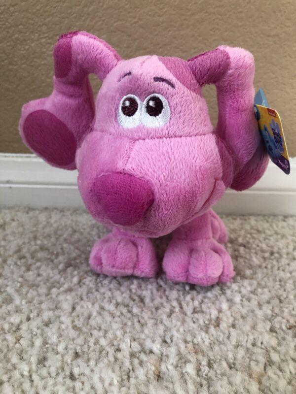 "MAGENTA Blues Clues & You 7"" Plush Stuffed Animal 2020"