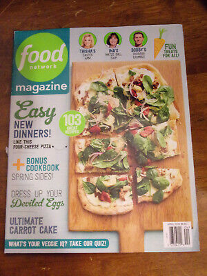 Food Network April 2018  Magazine  New  103 Recipes