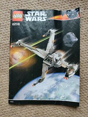 Lego Star Wars 6208 (B-Wing Fighter) Instruction Booklet
