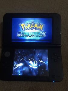 Like new Nintendo 3DS XL Plus Pokemon Red ,Sapphire Enfield Port Adelaide Area Preview