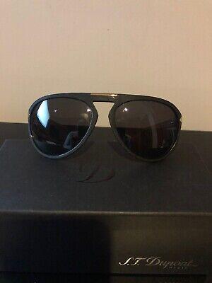 Authentic S. T. Dupont Sunglasses ST013 Polarized Plastic Italy 100% UV 3 (Uv3 Sun Glasses)