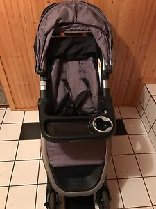 Like new Eddie Bauer Travel System with extra base and seat.