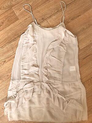 Iro Lisa Silk Pale Pink Dress