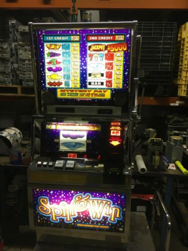 Bally 6000 Spin and Win with Mystery Pay SLOT MACHINE