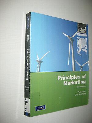 Principles of Marketing von Gary Armstrong und Philip Kotler , 13th ed (2009)