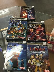 Assorted ys  psp games