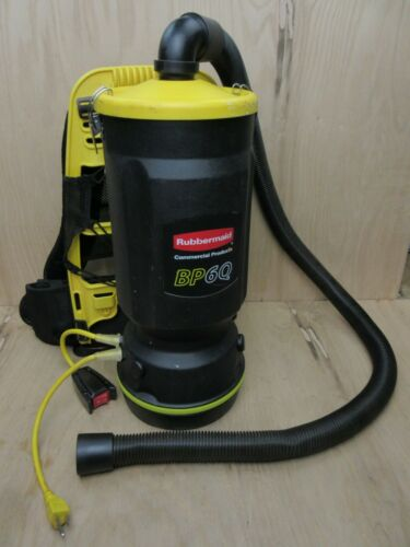 Rubbermaid Model BP6Q Portable Backpack Vacuum Cleaner with Hose