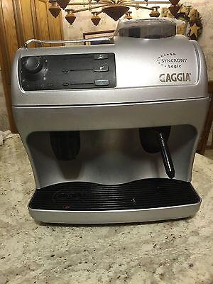 GAGGIA SYNCRONY Presence of mind (SAECO VIENNA PLUS) ESPRESSO, COFFEE & CAPPUCCINO MACHINE